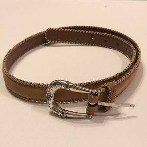 Brighton belt stitch detailed color came size 34